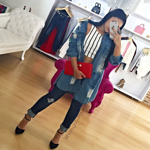 Denim outfit by:nativ