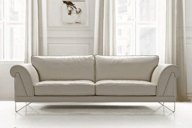 Palladio 3 Seater In 2020 White Leather Sofas Modern Leather Sofa Italian Leather Sofa