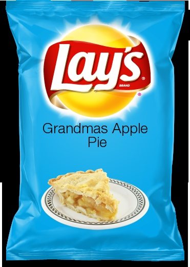 Vote for this new creation i made!-a new Lays chip flavor creation cintest-Grandmas Apple Pie