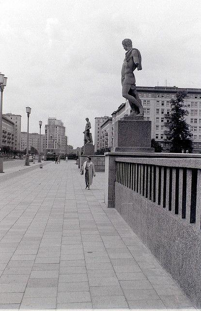 Stalinallee, East Berlin, c.31 July 1960