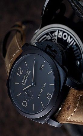 Matte black watches with a tan leather strap is definitely a style I'm liking at the moment.