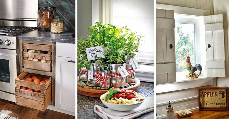 Farmhouse kitchen design tugs at the heart as it lures the senses with elements of an earlier, simpler time. See the best decoration ideas!