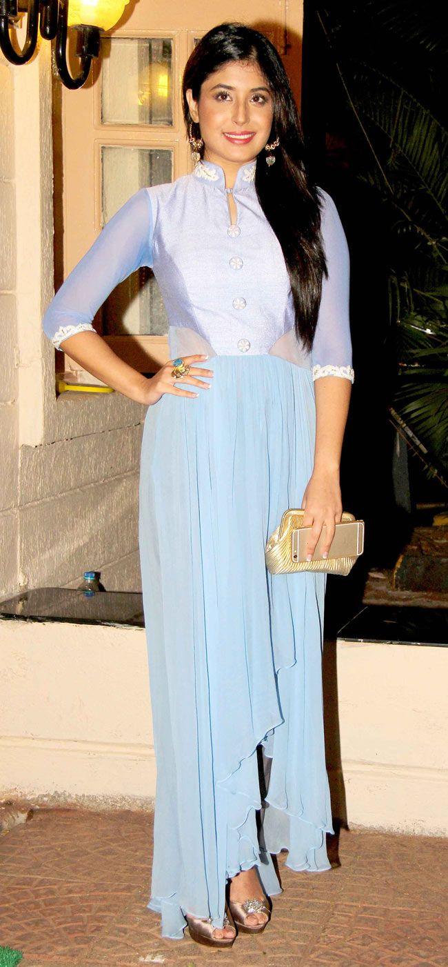 Kritika Kamra at Ekta Kapoor's Diwali bash.