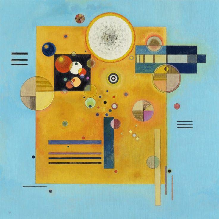 SOFT PRESSURE, 1931 Oil on plywood New York, Museum of Modern Art (MoMA) #kandinsky #kandinski #kandinskij #abstraction #abstractart http://www.wassilykandinsky.net/work-218.php
