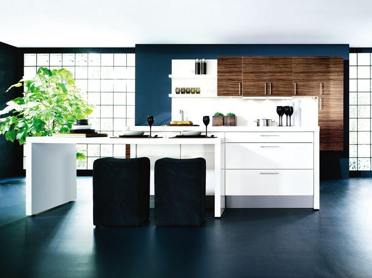 25 beste idee n over witte keukenkasten op pinterest witte keukens wit kookeiland en witte - Trendkleur keuken ...
