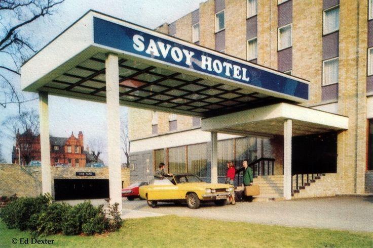 Mansfield Road , Nottingham , c1970s  Former Savoy Hotel now renamed Park Inn.