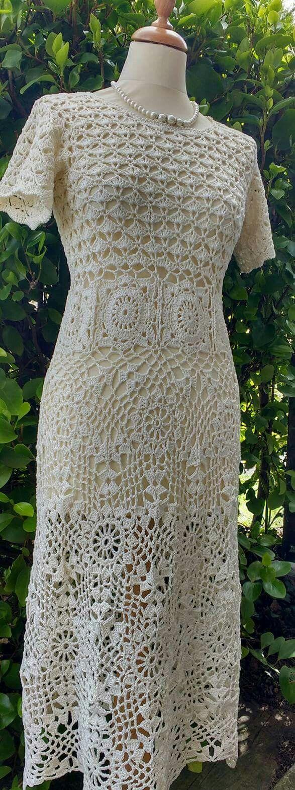 Crochet dress www.facebook.com/designsbysonya