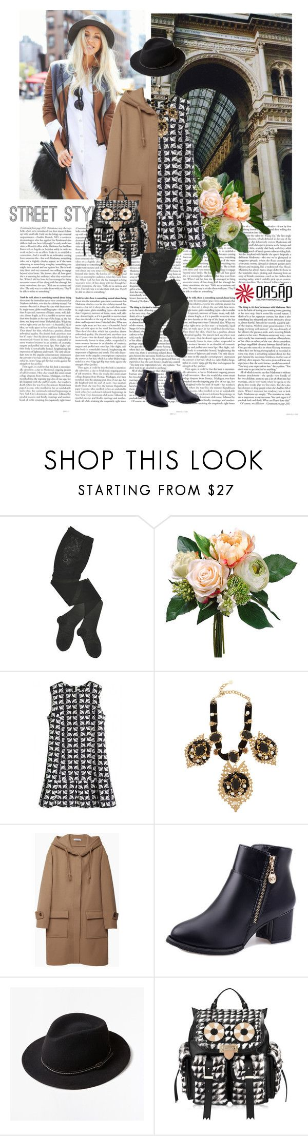 """Oasap 2.12"" by crazy-daisy1 ❤ liked on Polyvore featuring GET LOST, HYD, Dolce&Gabbana, J.W. Anderson, Zara Home, Aspinal of London and oasap"