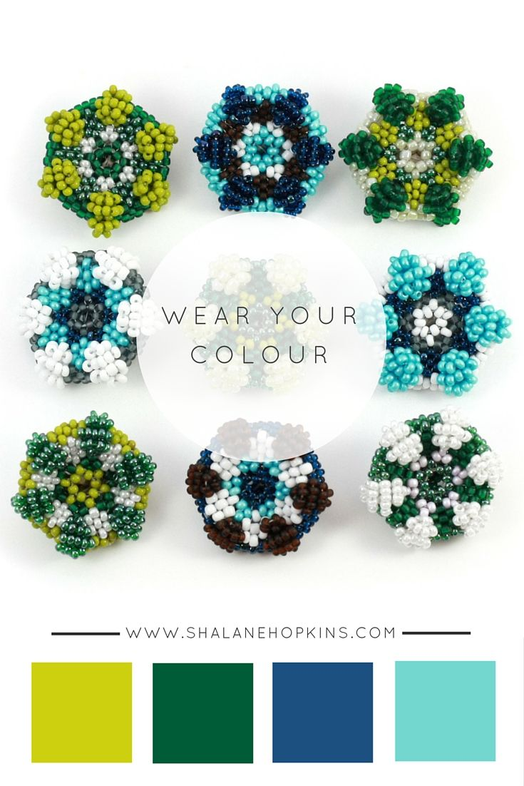 However you choose to wear it, these brooches are sure to brighten your day. All OOAK. All beadwoven. All handmade by Shalane Hopkins. See www.shalanehopkins.com for more OOAK jewellery.
