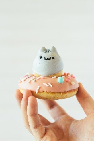 pusheen donuts | fork to belly | The Sweet Shop | Pinterest | Japanese Yummy ≧◡≦ | Pinterest