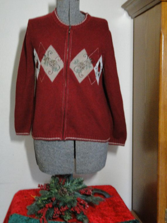 Ugly Christmas Sweater Cardigan Petite Small Cheap Jumper  Tacky, Gaudy, Novelty, Holiday, Party, Xmas by ABetterSweaterShop on Etsy 15
