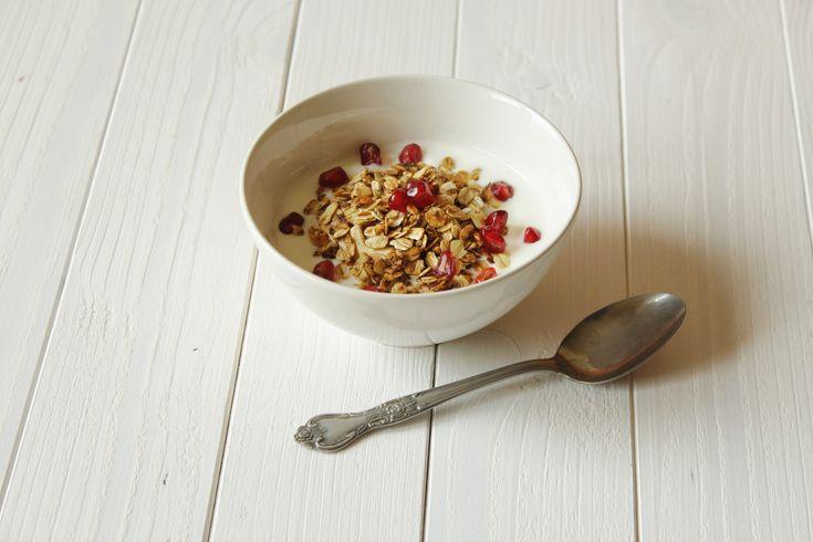 Dietetyczna granola z patelni