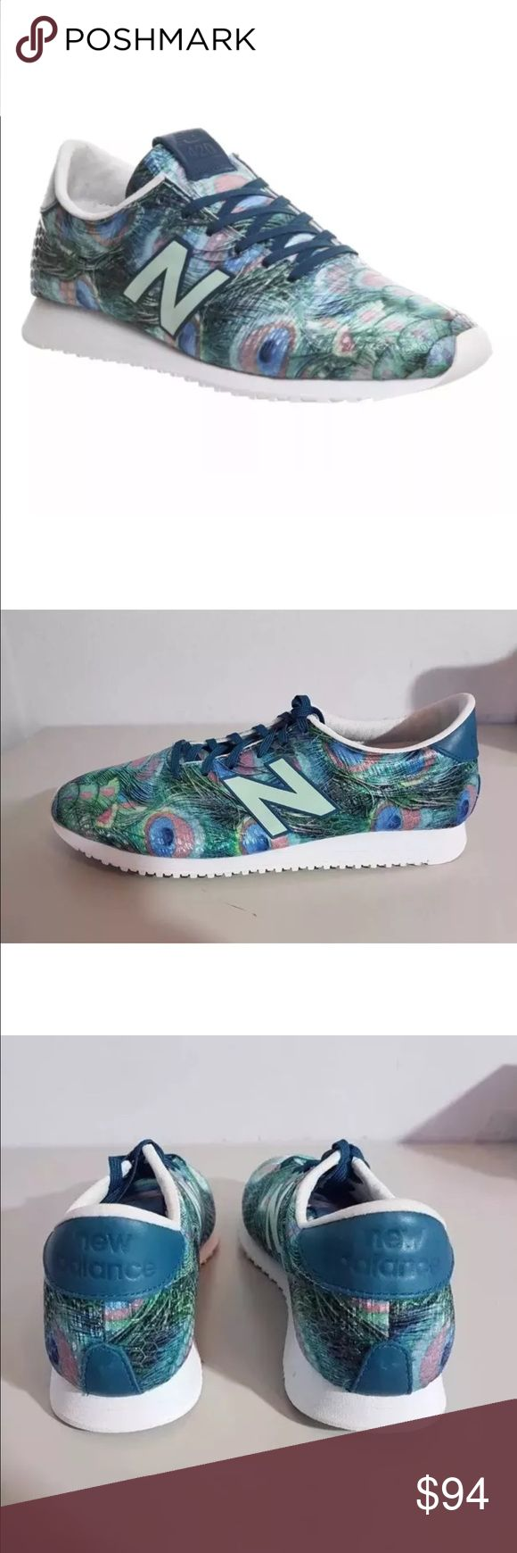 Nwob Rare new balance peacock trainers 6 Limited edition, price firm unless bundled New Balance Shoes Athletic Shoes
