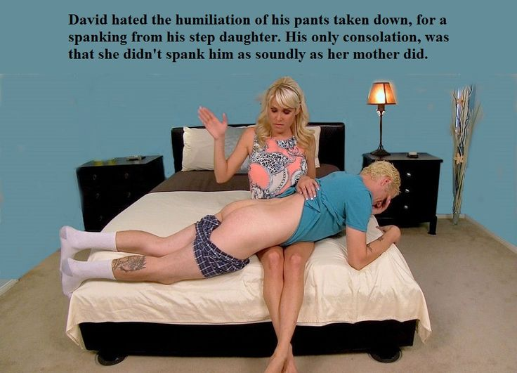 Spank and humiliate him