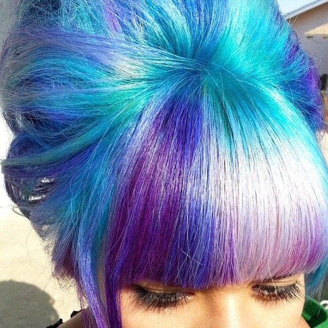 Dimensional hair color by PRAVANA Artistic Educator, Maria Santana @Maria Canavello Mrasek Santana. All custom colors created using ChromaSilk VIVIDS.