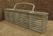 WD28X10182 GE Dishwasher Silverware Basket