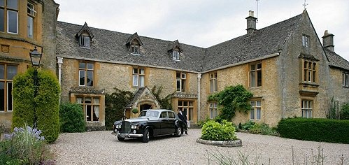 Timothy Weston's home Lords of the Manor Hotel Upper Slaughter, Cotswolds - I have been here but one day I would love to stay the night...one of the prettiest, quiet villages in England.