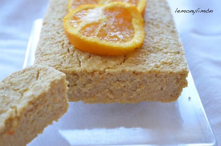 "Bizcocho ""fitness"" de limón y naranja. lemonylimon"
