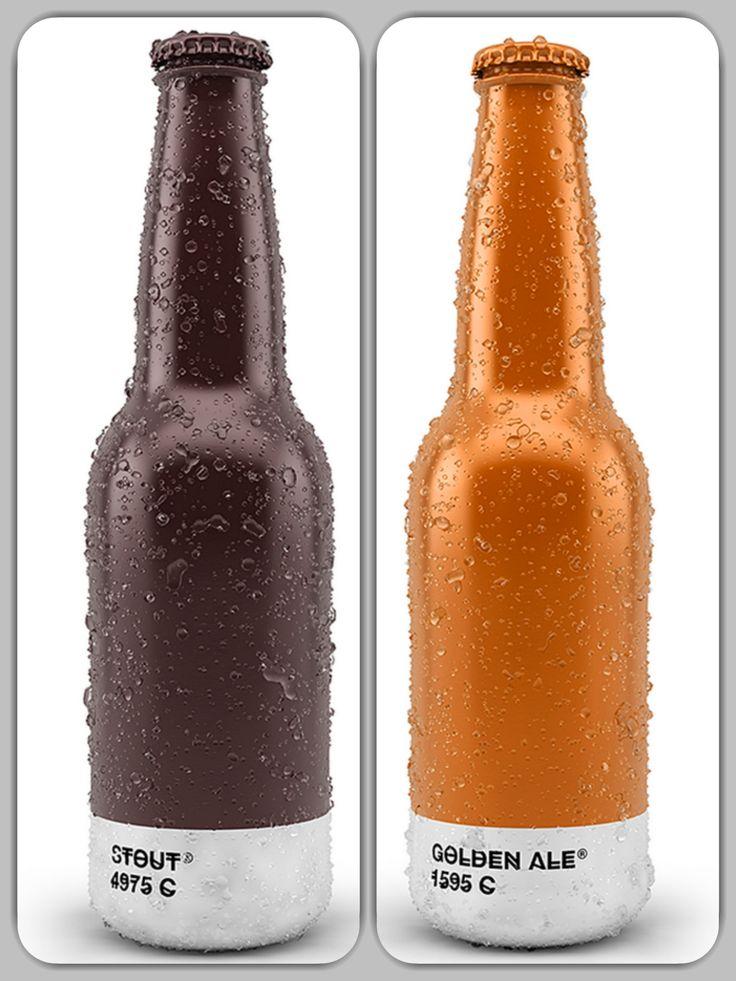 #packaging #inspiration #pantone #beer #color www.medesrl.it