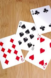 Fourth Grade Geometry Activities: Point Symmetry Rummy