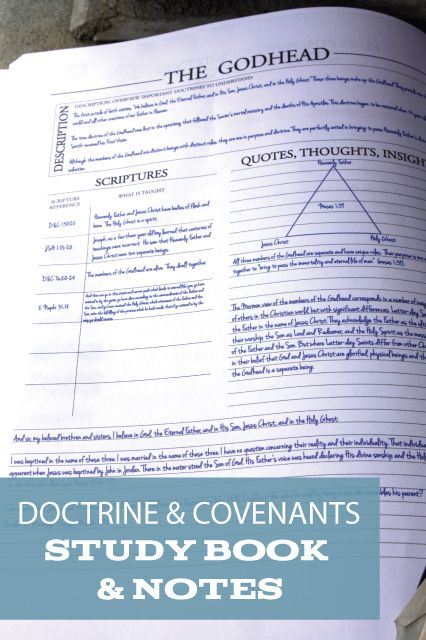 doctrine and covenants study guide