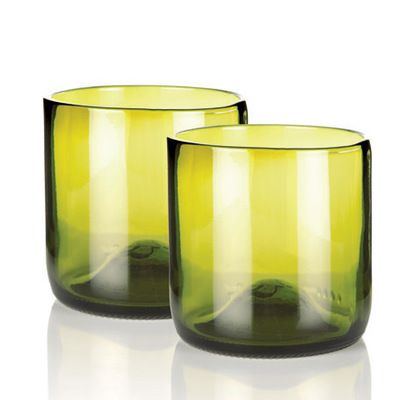 Pair of Tumblers #gifts #glassware #upcycling