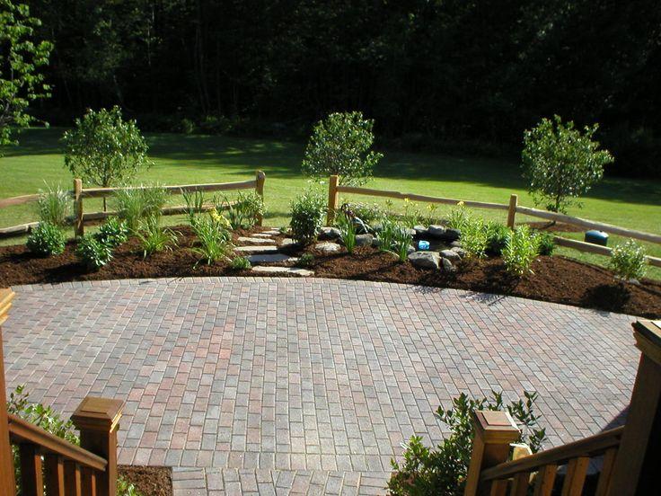 52 best paver patio images on pinterest   backyard ideas, patio ... - Patio Paver Ideas Landscaping