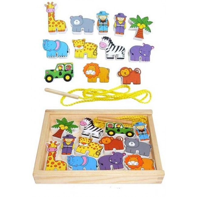Fun Factory - Lacing Blocks Zoo Animals  I think my almost 3 year old would enjoy this new challenge #entropywishlist #pintowin