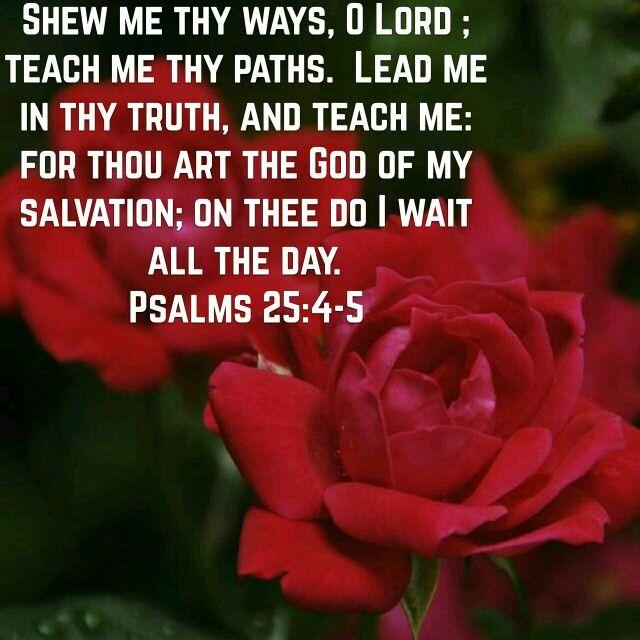 psalm 25 king james version