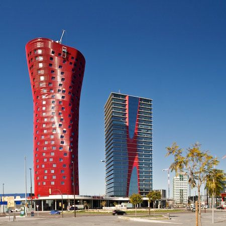 Porta Fira Towers by Toyo Ito and b720 Arquitectos