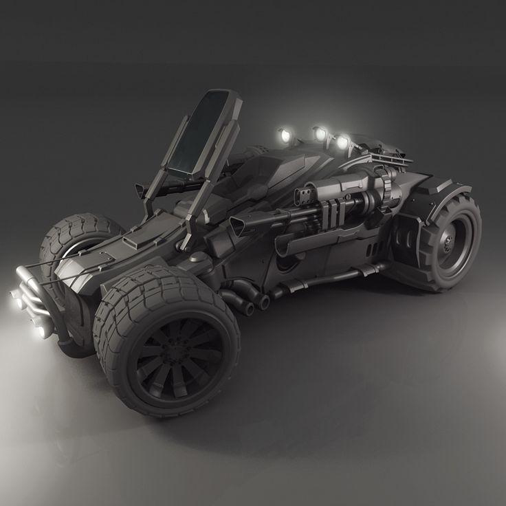 vehicle jeep 3d model