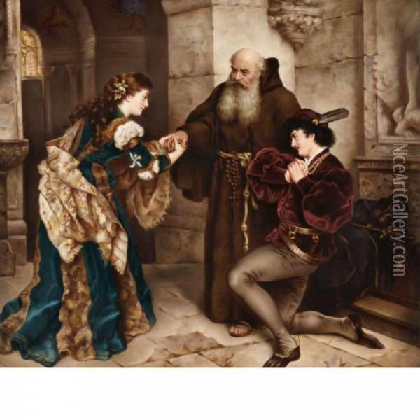 best friar lawrence images romeo and juliet romeo and juliet before friar lawrence oil painting carl ludwig friedrich becker