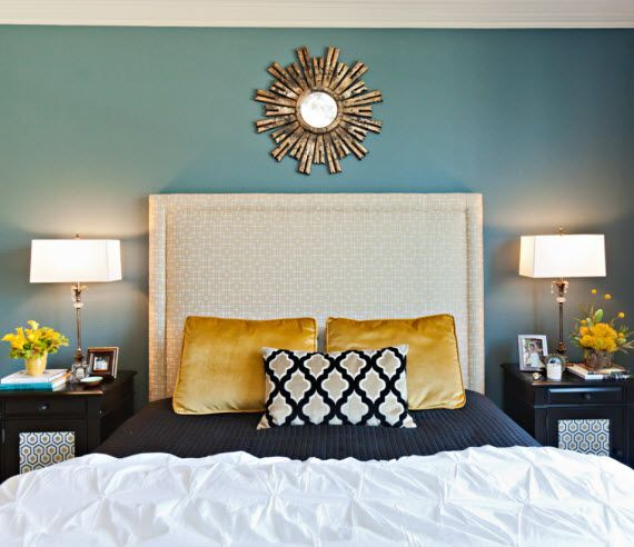 Turquoise And Gold Bedroom Ideas   Home Design and Interior ...