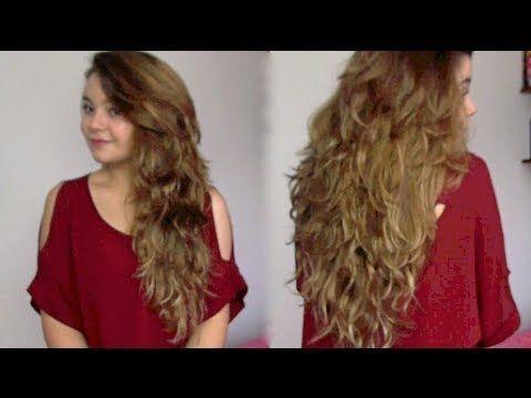 Como cortar el pelo en capas largas!