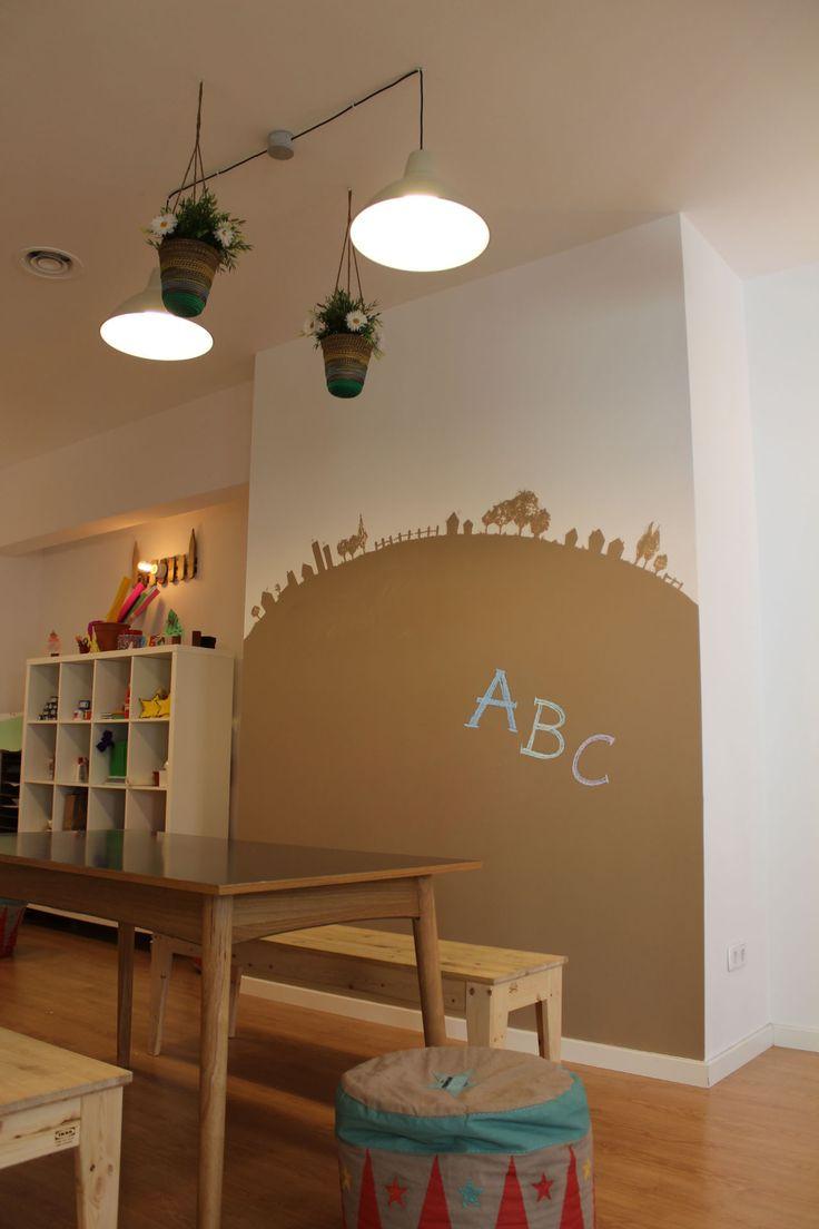 M s de 25 ideas incre bles sobre pintura para paredes de - Pintura pared pizarra ...