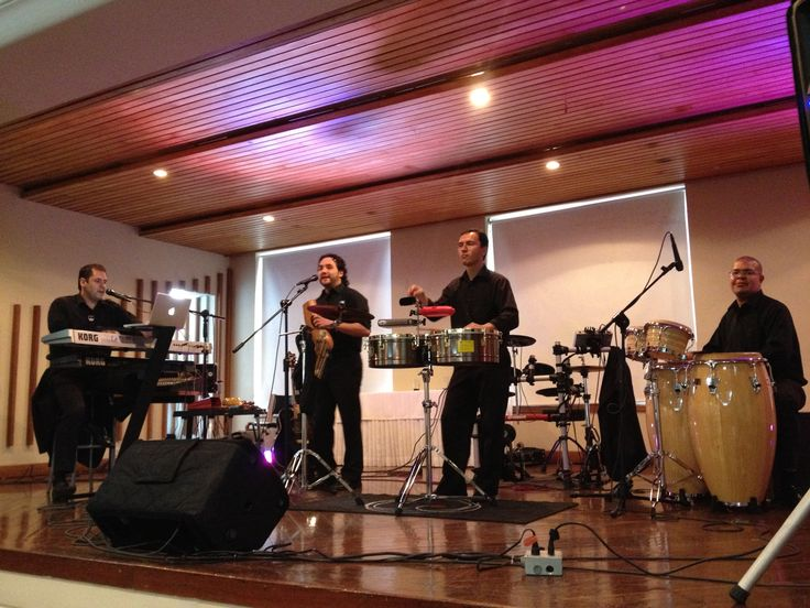 BANDA LATIN JAZZ - músicos bodas - música crossover