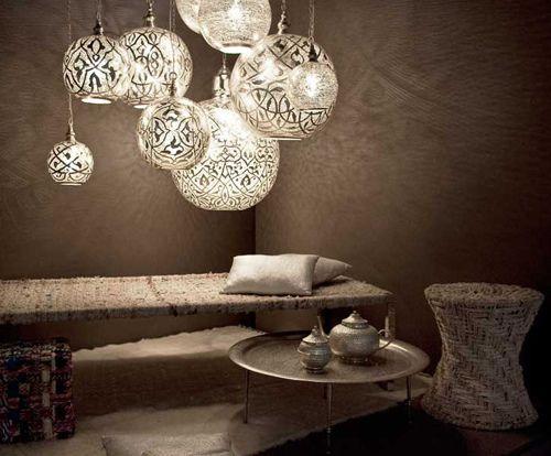 Morocco lights.
