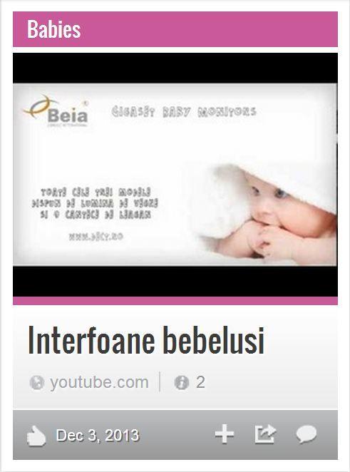 Interfoane pentru bebelusi, monitorizare video a copiilor si liniste parintilor. Acestea sunt lucrurile esentiale pe care Beia Consult Intl. le distribuie impreuna cu Gigaset Baby Monitors