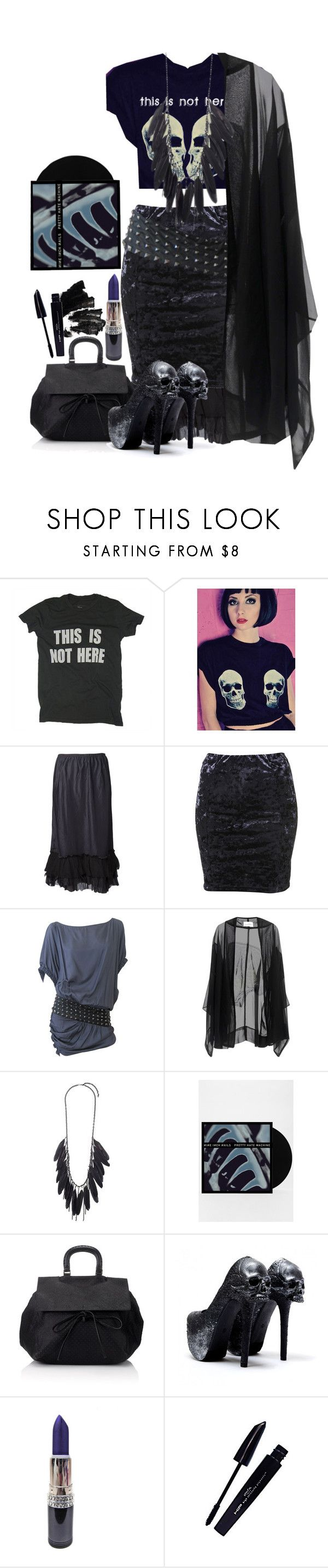"""""""Untitled #767"""" by no0ne ❤ liked on Polyvore featuring Worn Free, Dosa, Manning Cartell, Anna & Boy, Pauric Sweeney, MAC Cosmetics and L'Oréal Paris"""