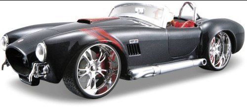 1965 Shelby Cobra 427 Metallic Black 1/24 Pro Rodz. #Shelby #Cobra #Metallic #Black #Rodz
