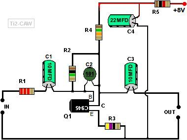 preamplificador con transistor c945 audio pinterest. Black Bedroom Furniture Sets. Home Design Ideas
