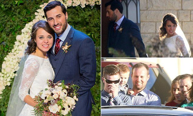PICTURED: Jinger Duggar glows in her official wedding photo