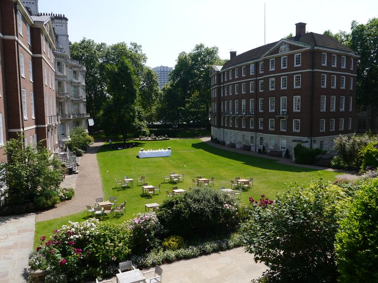 Middle Temple garden shoot from the Bench Apartments