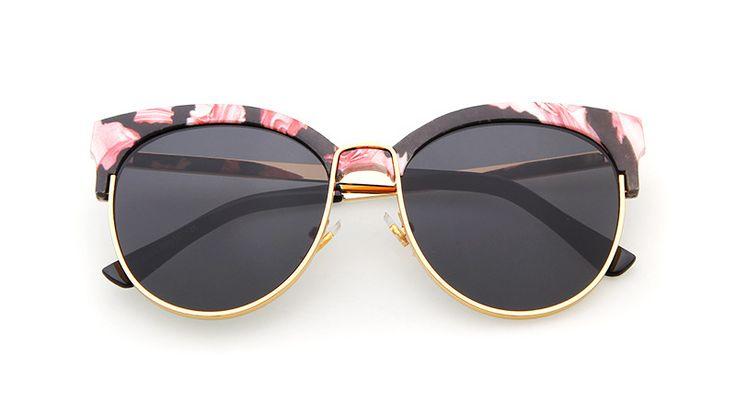 Zoe Camo Sunglasses