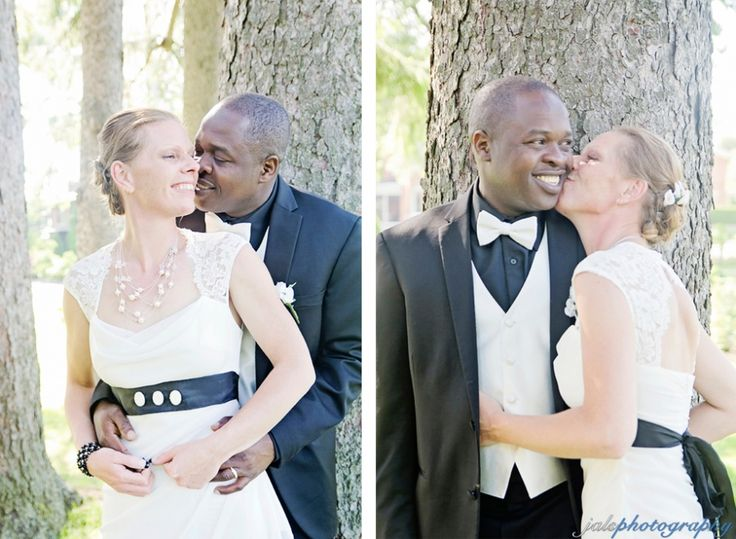jalsphotography » wedding photography, interracial / mixed-race Canadian-Jamaican wedding, black and ivory wedding colors, Belleville, ON