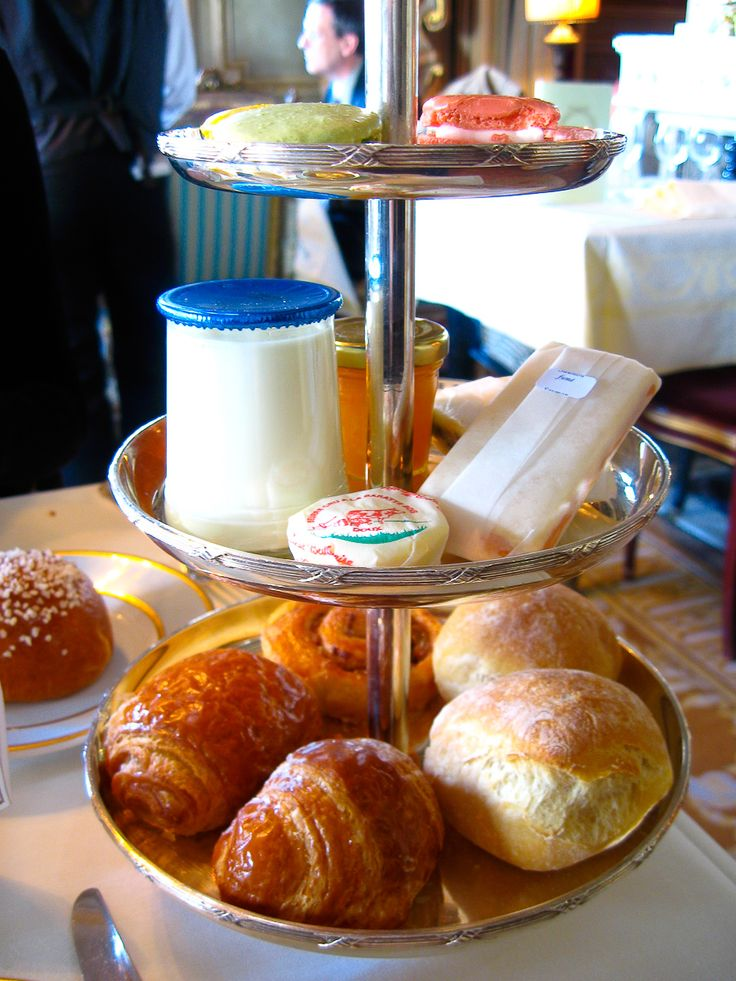 Laduree, Paris - Continental breakfast