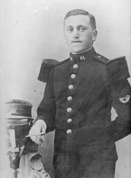 [#14/18] Le soldat Jean-Baptiste Azagier tué le 26 sept. 1914 à Gerbéviller (Moselle) © DR.
