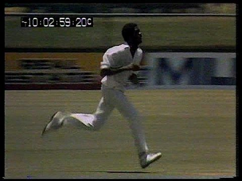 Michael Holding - Blistering Pace Bowling Brisbane 1979...