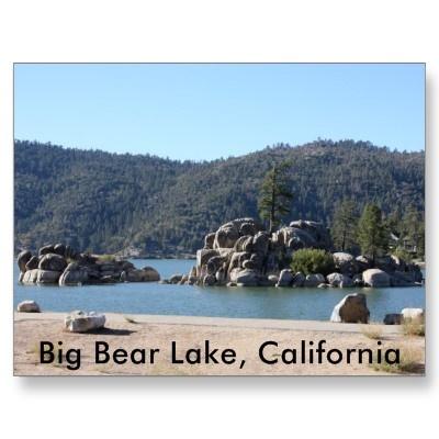 on a beautiful scenic drive we circled big bear lake california in the san bernardino national forest.