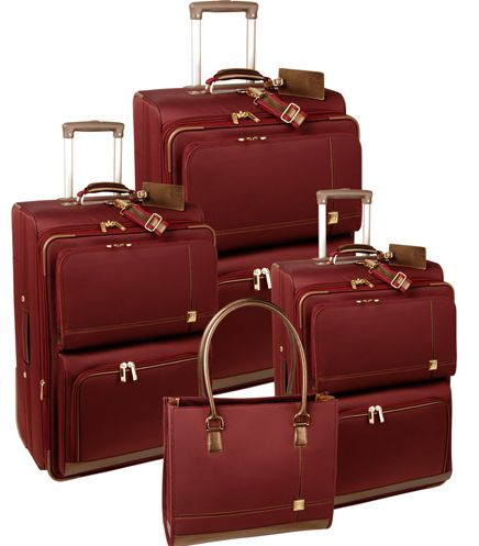 Diane Von Furstenberg Luggage (Classic) - the pieces are perfectly designed and amazing for running through airports!